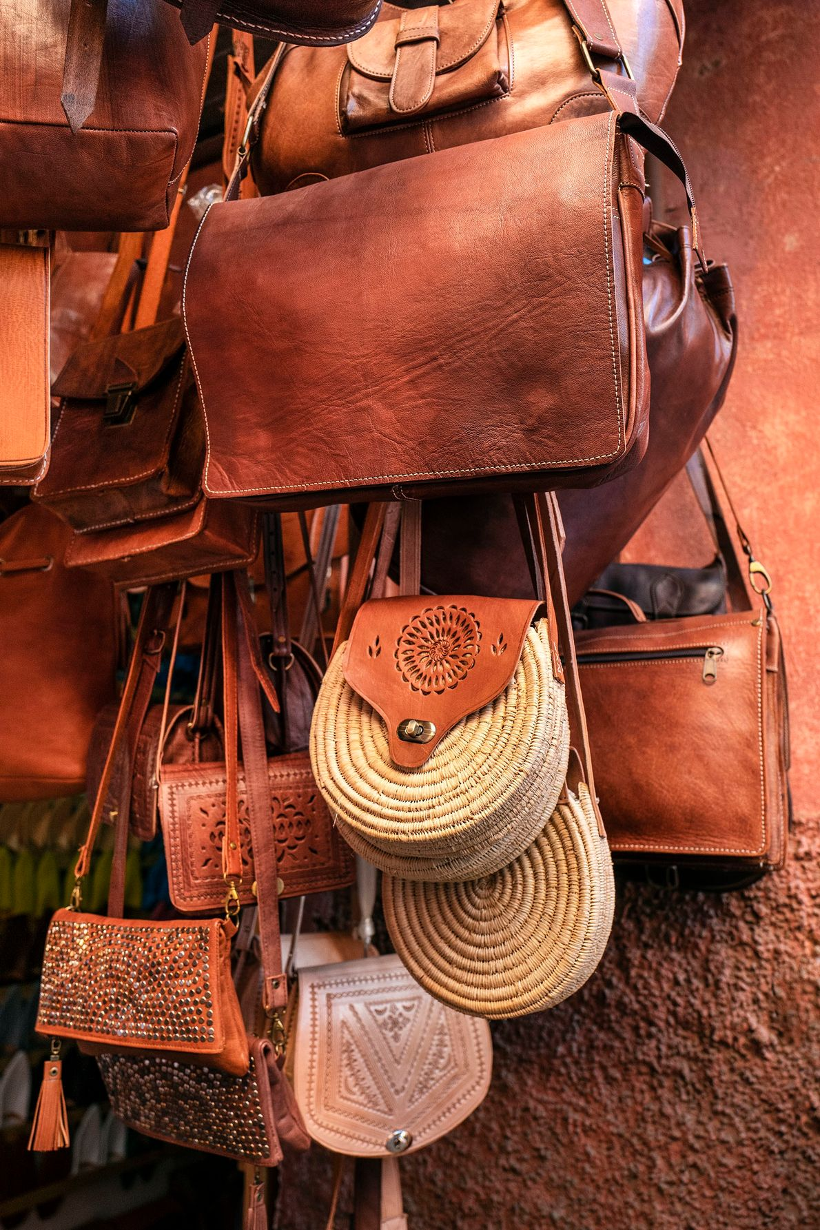 Tanned hides are crafted into a variety of finished goods. Satchels come in a wide range ...