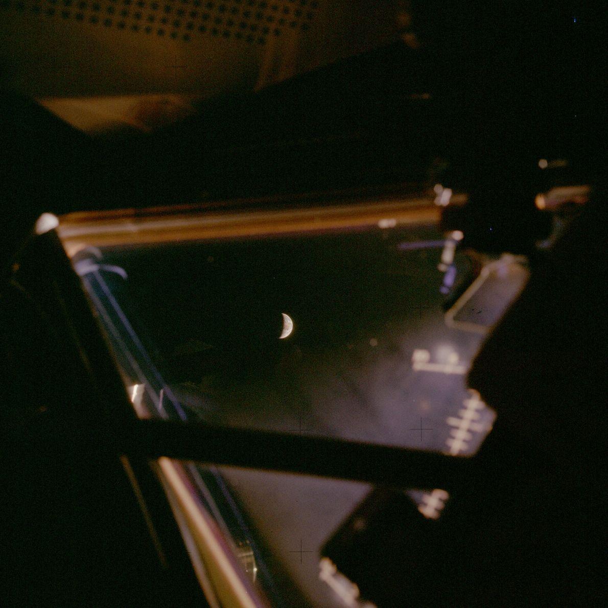 Earth seen from Apollo 13.