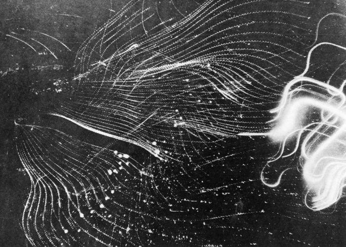 Allied air attack on Hamburg, 1943 (b/w photo)