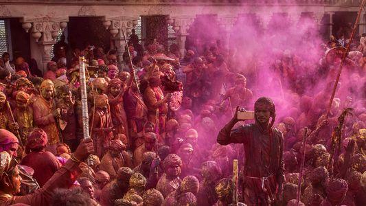 Photo story: celebrating Holi festival in India's Braj region