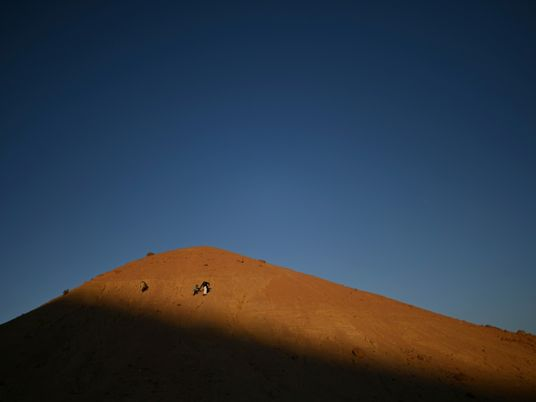 In one of Egypt's most spiritual places, Bedouins find peace and resilience