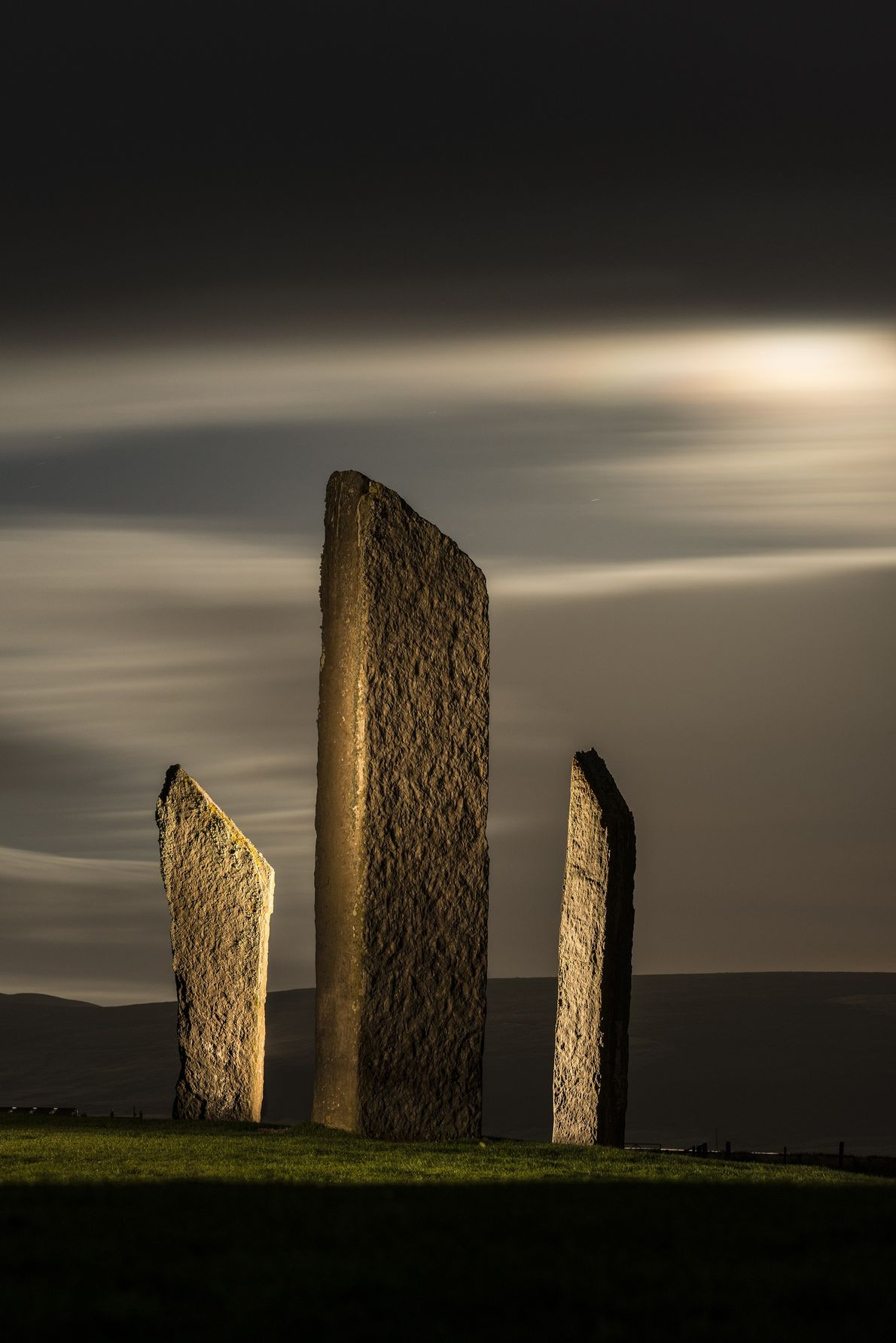 The Stones of Stenness is a Neolithic monument in Orkney, Scotland dating from around 3000 BC. ...