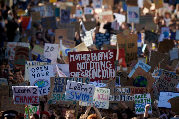 The impetus for change – as demonstrated by the global climate protests of 2019, such as ...