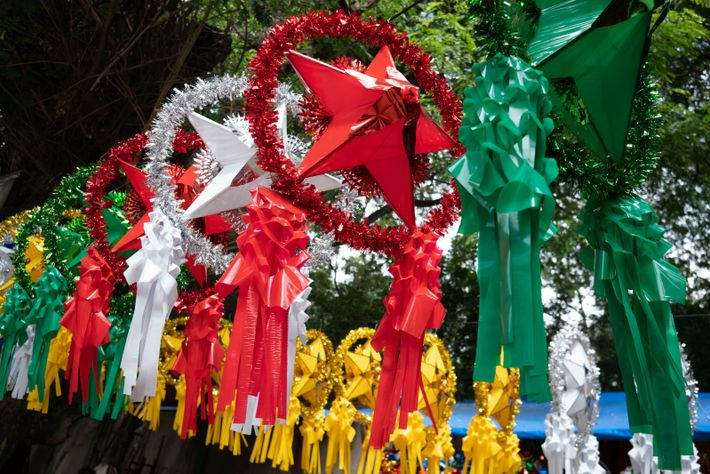 The parol was thought to be a representation of the Christmas star – from the Spanish ...