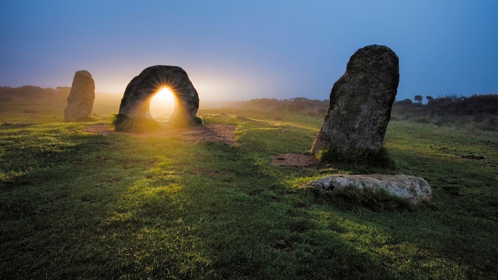 The suggestively-shaped Men-an-Tol – known locally as the Crick Stone – is said to have the ...