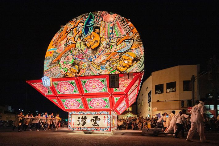 Nebuta Festiva is a celebration of fire that attracts more than three million revellers every year, ...