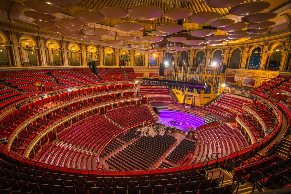 The hall can seat 5,000, and many of the seats were sold in advance of the ...