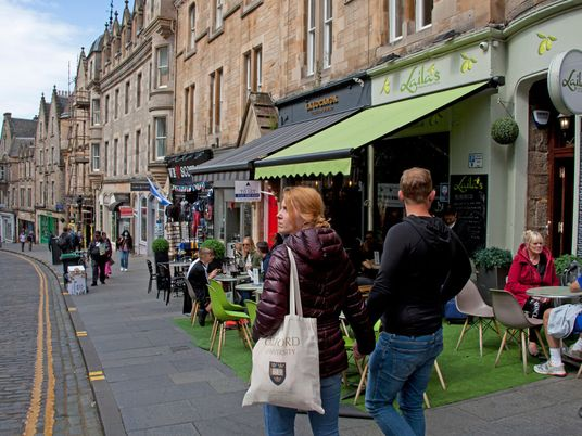 The pandemic pushed cars out of Edinburgh. Here's how it's going.