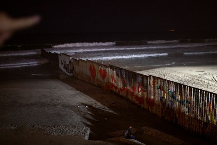 In Tijuana, the United States is tantalizingly close. One night in late December, Kataleya was on ...
