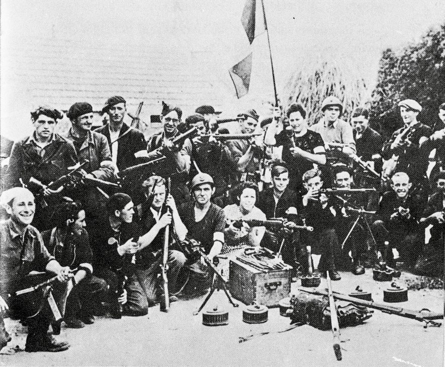 Tools and arms were supplied to agents or French Resistance fighters known as the maquis pictured …