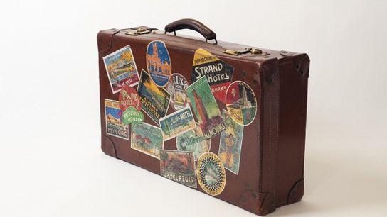 A suitcase.