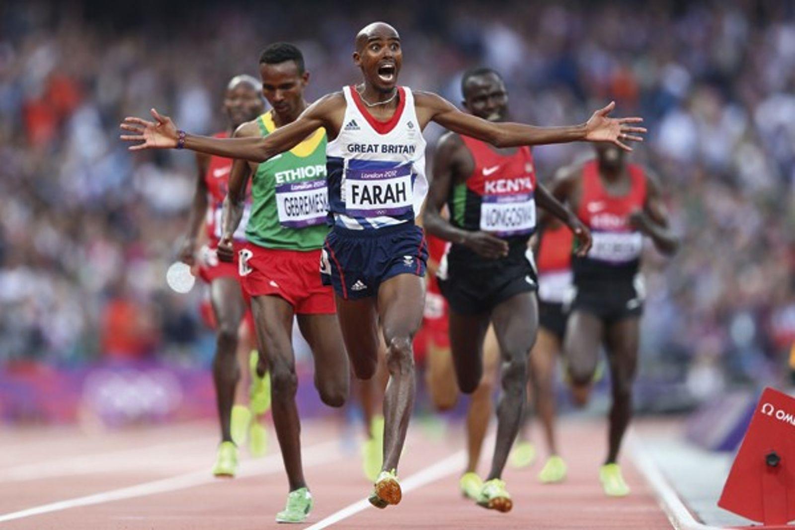 The athlete: Mo Farah interview