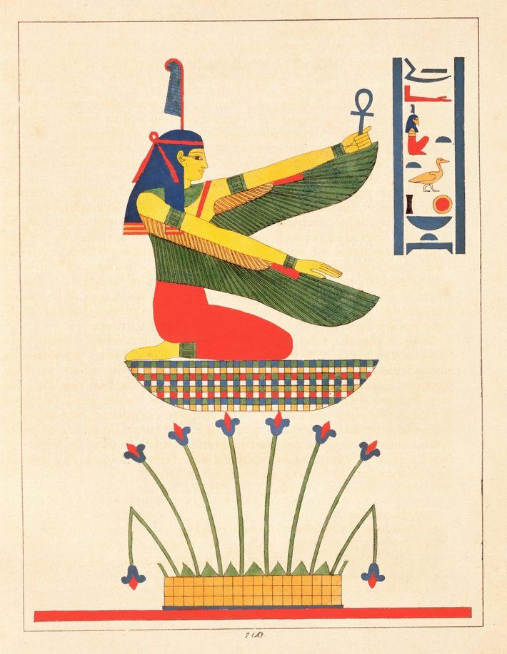 The goddess Isis