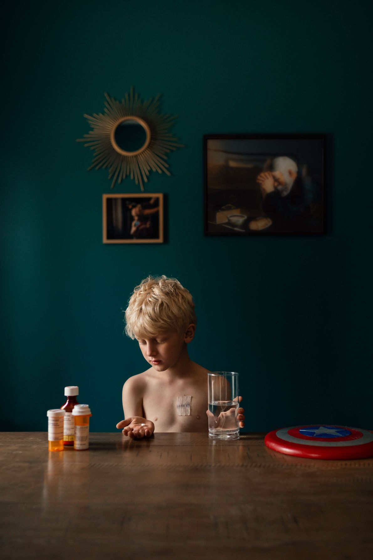 Your Shot photographer Megan Loeks made this portrait of her son as he took his last ...