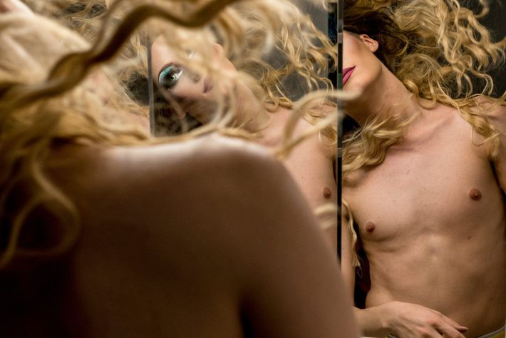 """""""This image is from a larger documentary series on a local drag queen group,"""" writes Your ..."""