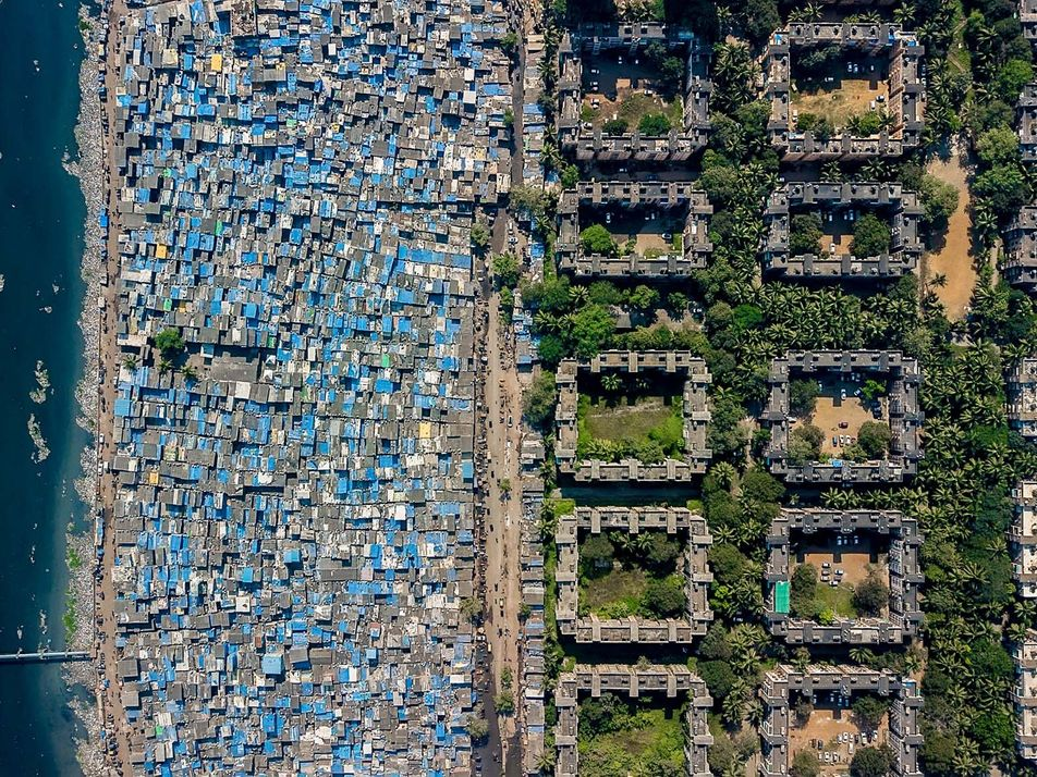 Want to visualise inequality? View cities from above