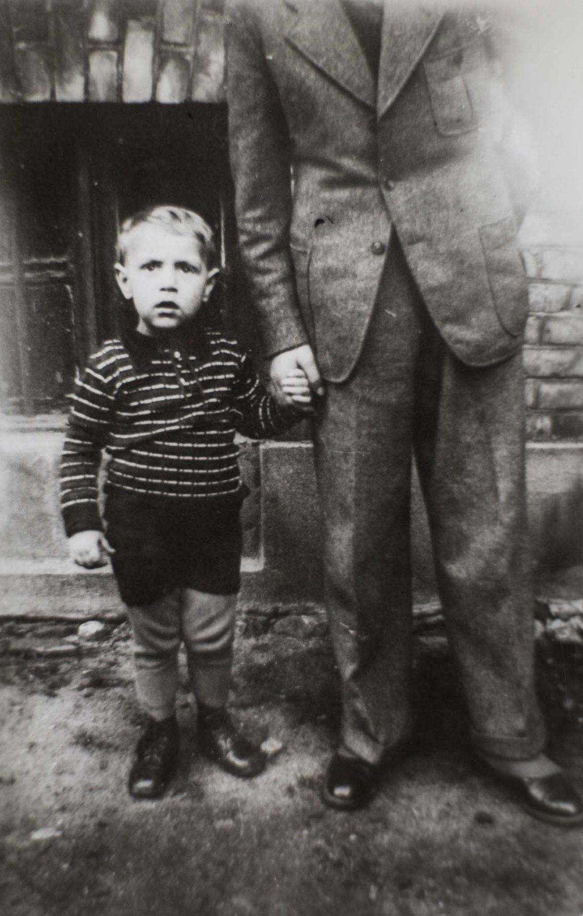 Born in 1936, Reinhard was three years old when the war began.