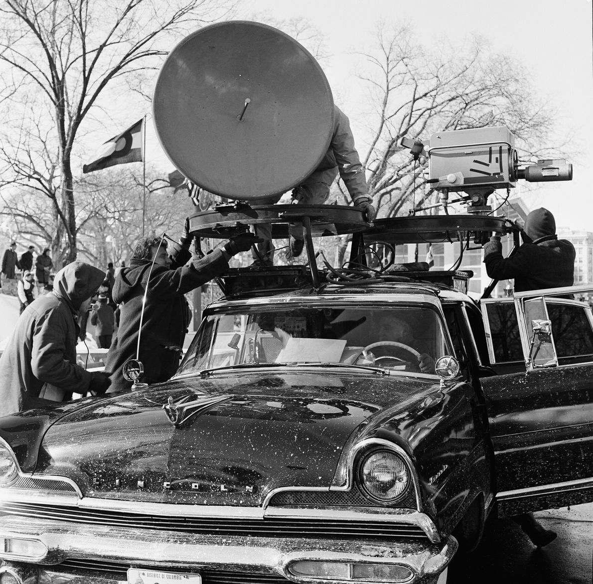 Telecommunications advances—from the telegraph to the television—allowed even more Americans to witness the peaceful transfer of ...