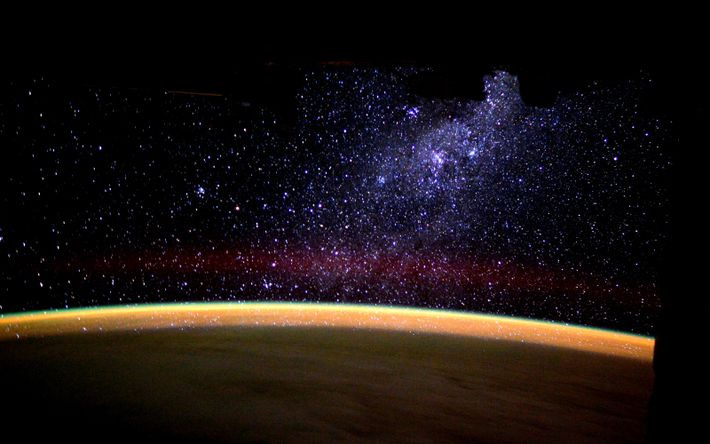 "ESA astronaut Tim Peake posted this stunning image on his social media channels, commenting, ""Watching the ..."