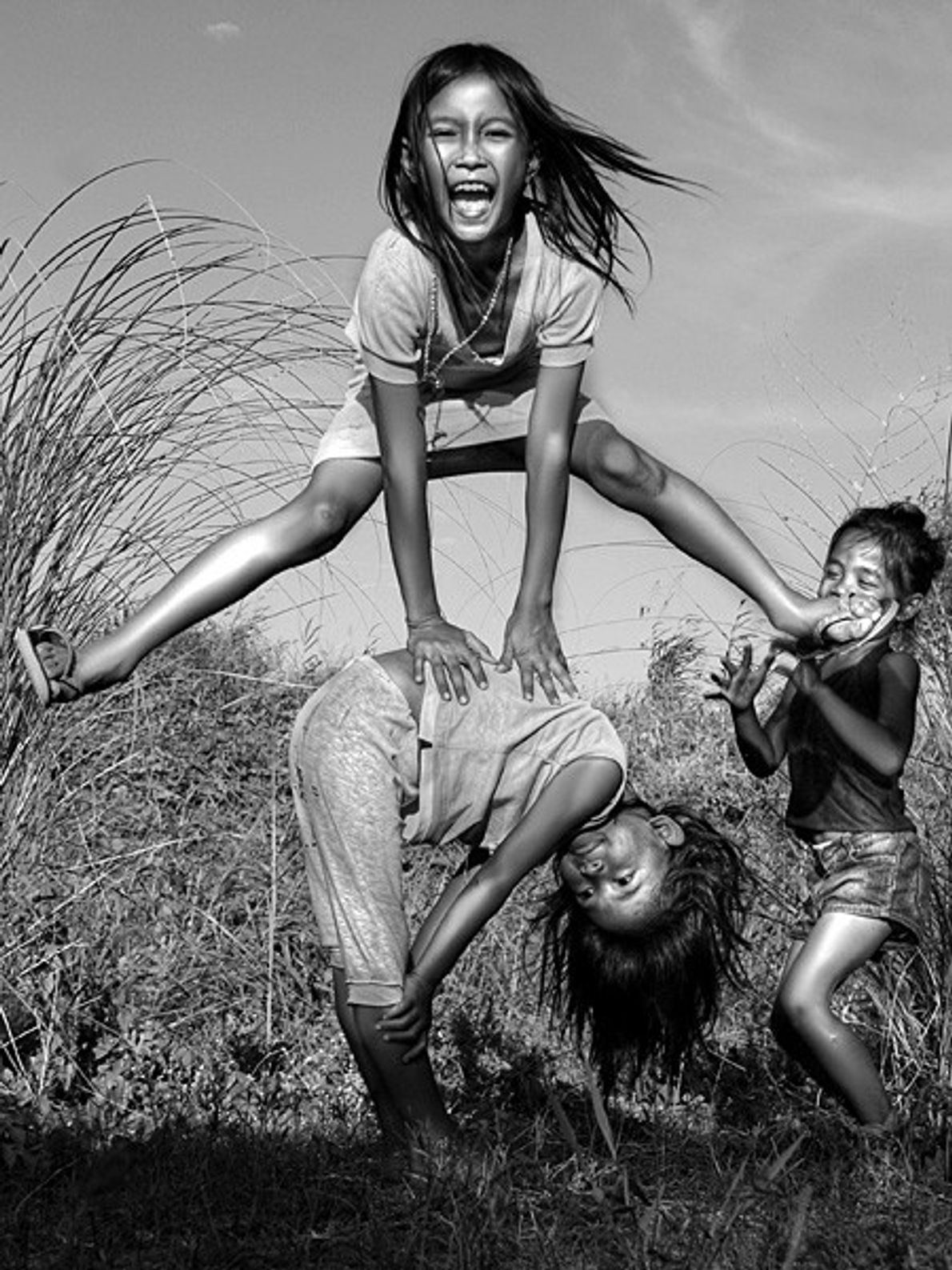 Children at Play, Philippines