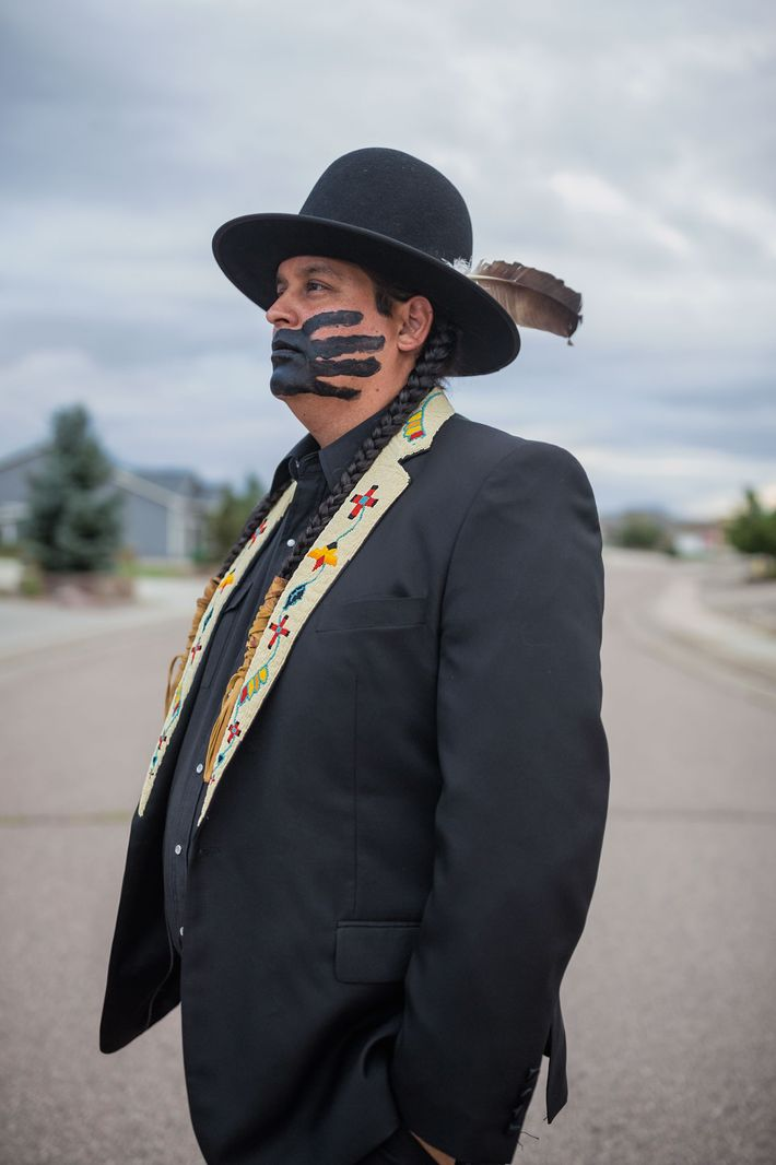 Gregg Deal, a Pyramid Lake Paiute, uses performance art to challenge misconceptions of Native American identity. ...