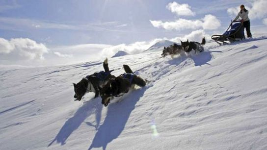 Snow time: Northern Norway is an Arctic playground.