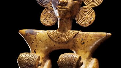 """""""Golden Chief"""" Tomb Treasure Yields Clues to Unnamed Civilization"""