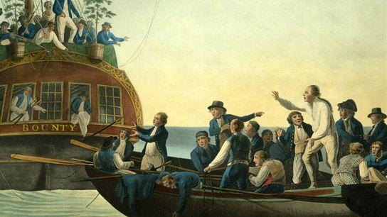 Mutineers on the Bounty- WIlliam Bligh