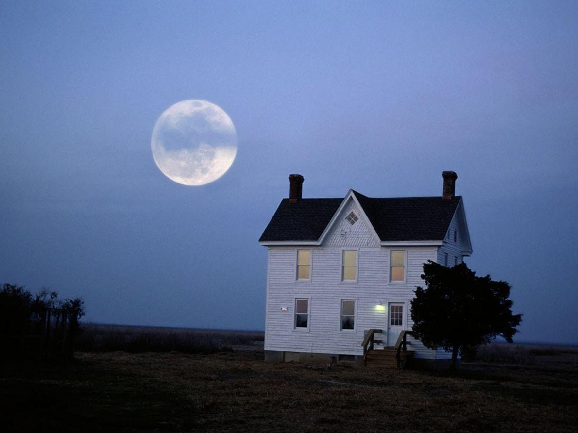 Moonrise, Chesapeake Bay
