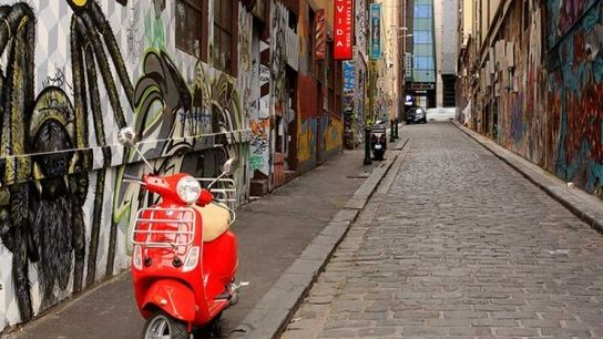 Change alley: Melbourne's laneways are full of life.