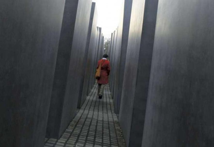 Building on the past: Holocaust Memorial, Berlin.