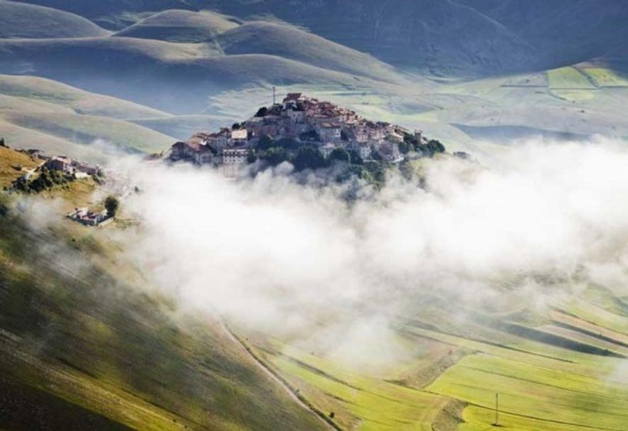 Natural high: Monti Sibillini National Park, Umbria.