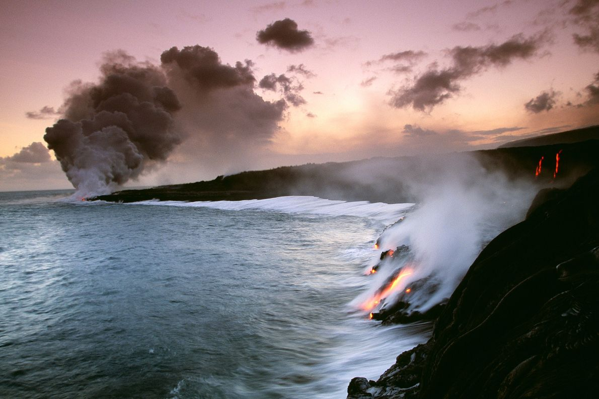 Go with the lava flow at Hawaii Volcanoes National Park