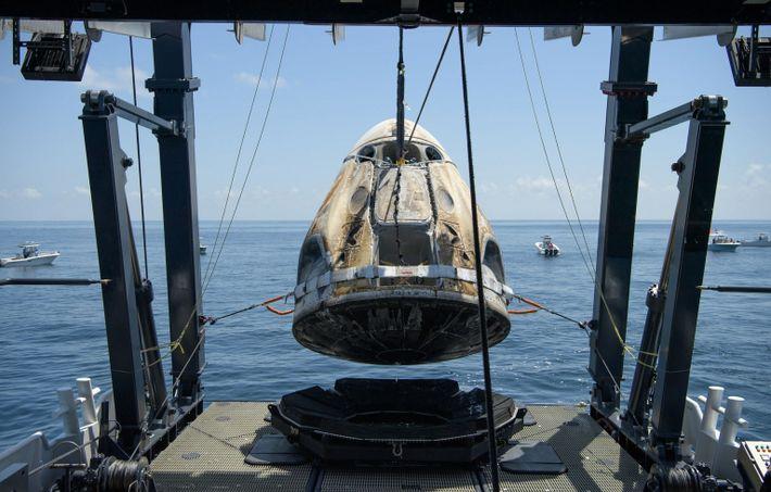 SpaceX Crew-1 Dragon capsule