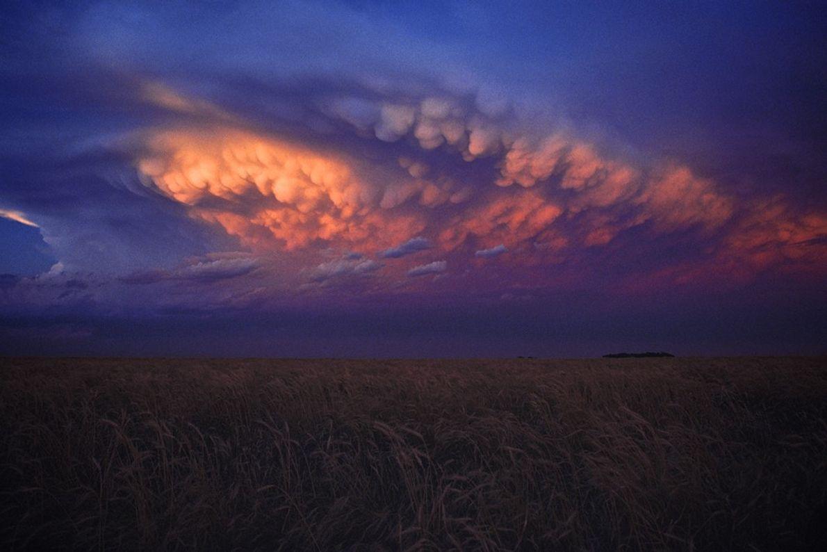 Sunset After a Storm, Kansas