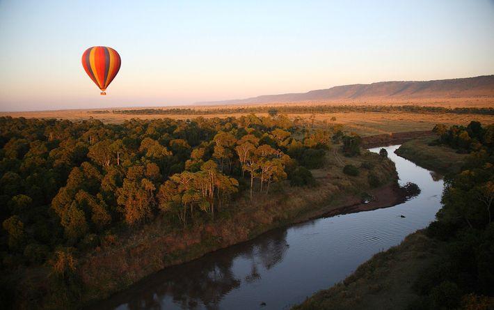 The winners will be treated to a hot air balloon safari over the Maasai Mara.