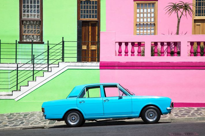 """""""The colourful streets of Bo Kaap in Cape Town weren't always this way,"""" writes Your Shot ..."""