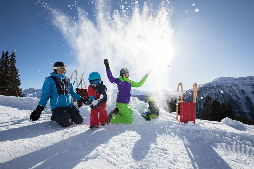 Wondering where to take the family? Try winter adventures in the Austrian region of Serfaus-Fiss-Ladis