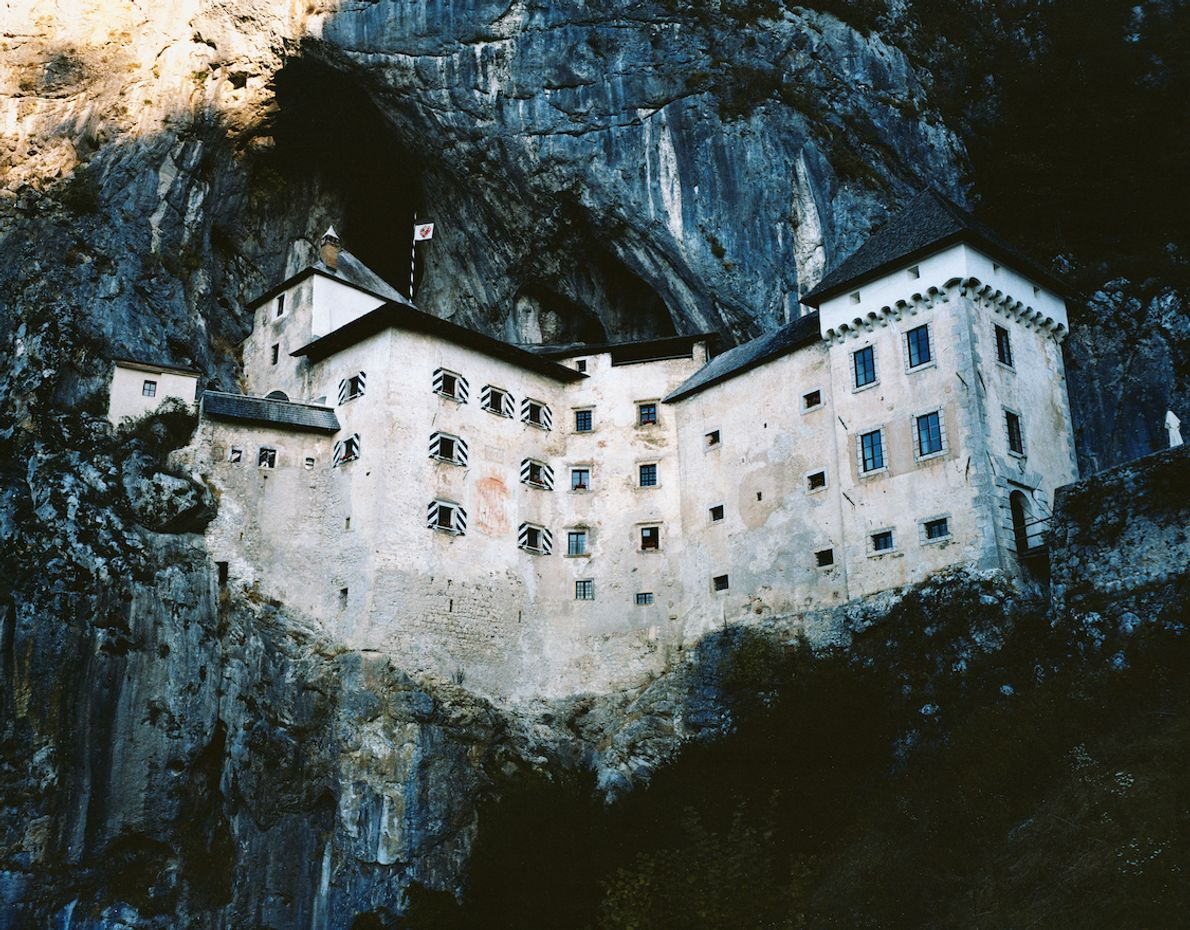 Embedded deep into the rock-face, in south-central Slovenia, Predjama Castle has been keeping watch on the ...