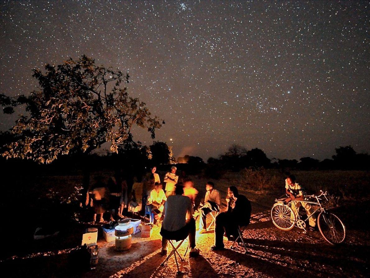 Campfire, Burkina Faso