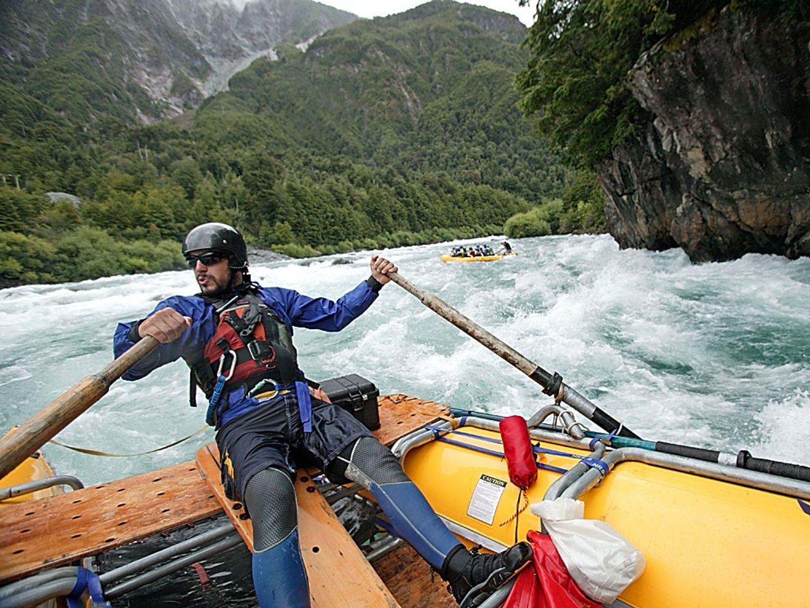 Top 10: White-Water Rafting
