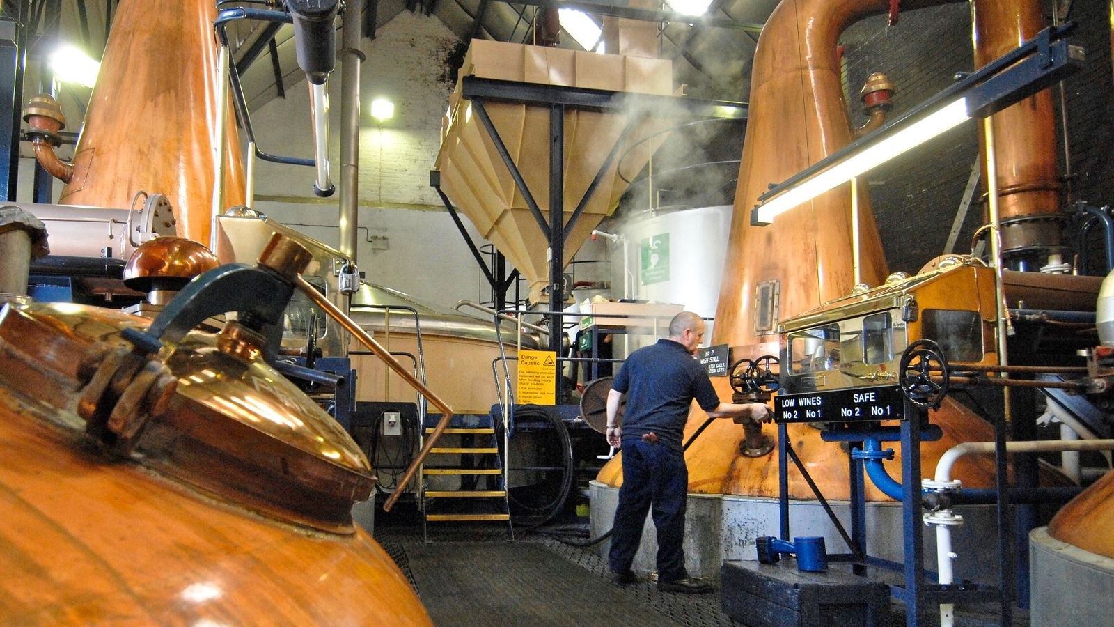 scotch whisky waste biofuel distillery