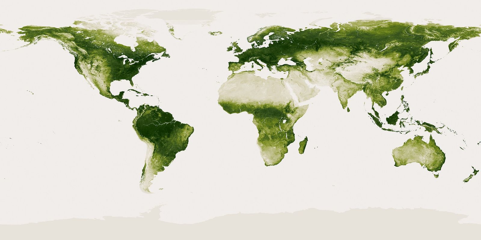 Pictures: Earth's Green Places Mapped in High Resolution