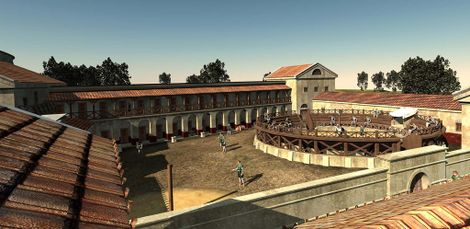 Gladiator School Discovery Reveals Hard Lives of Ancient Warriors