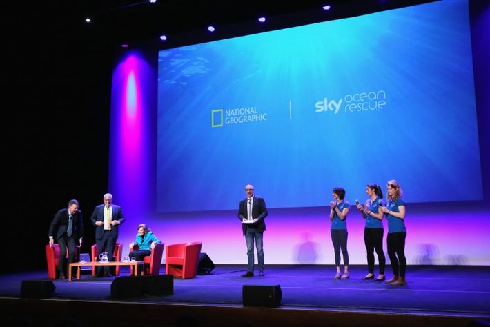 "The three winners of the Sky Ocean Rescue scholars were made during the ""Ocean Rescue for ..."