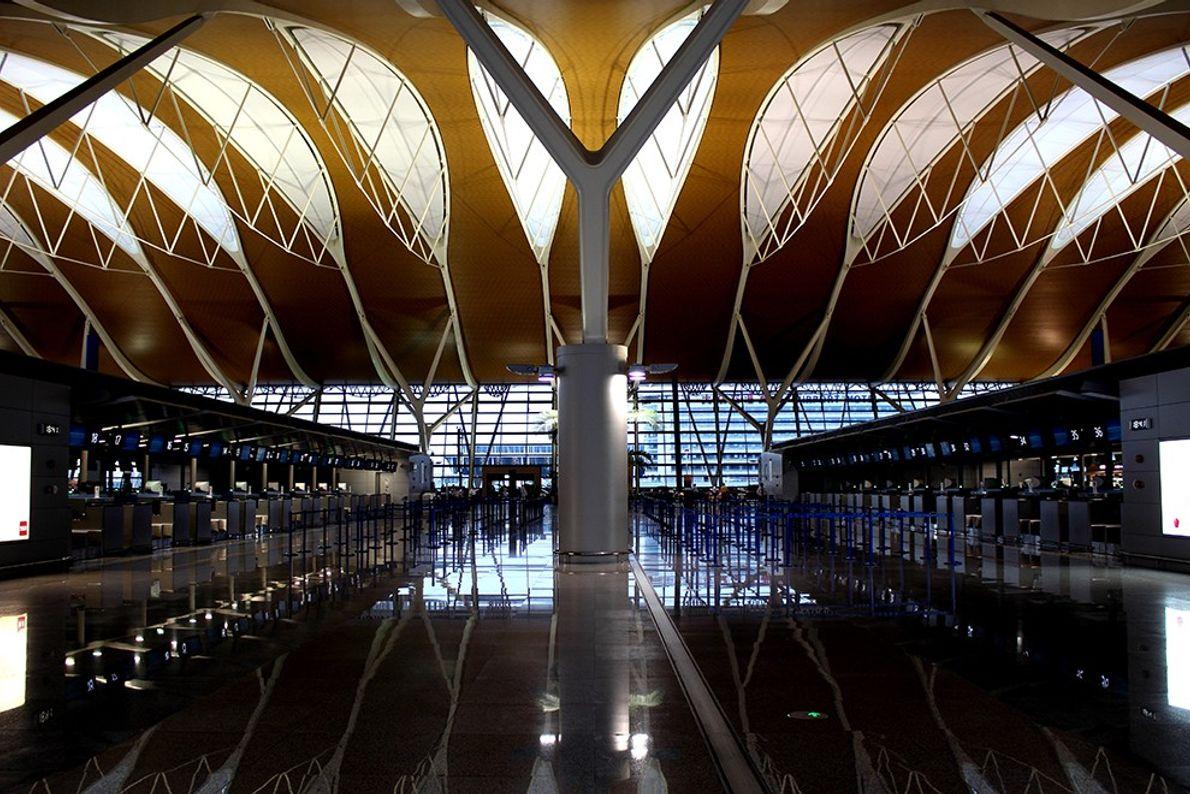 Shanghai Pudong International Airport, China