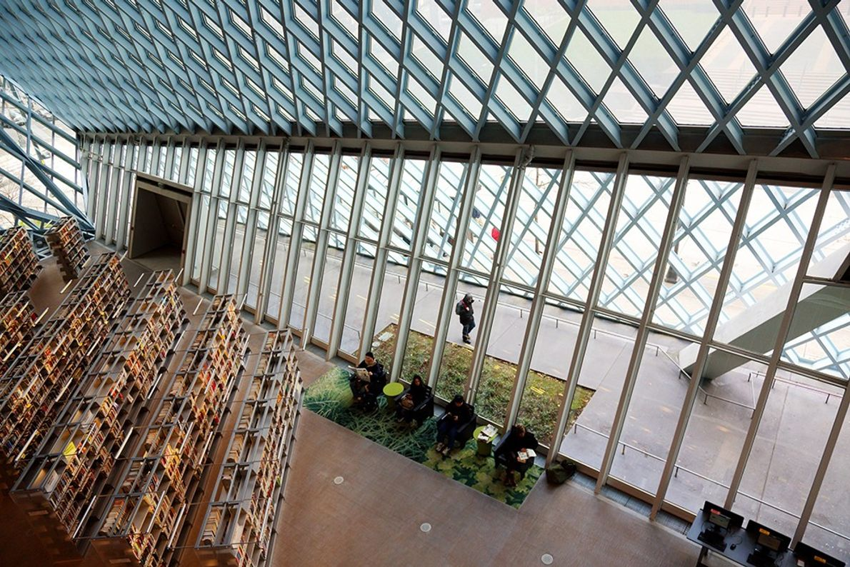 Seattle Central Library, Washington