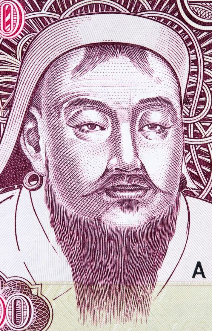 Some countries look to ancient history to reflect their national pride. In Mongolia, Genghis Khan appears ...
