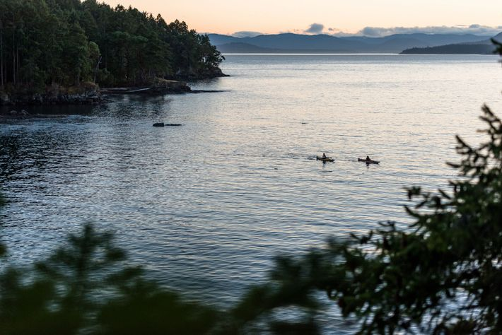 South Pender Island is known for its sleepy coves and dramatic headlands, making it a great ...