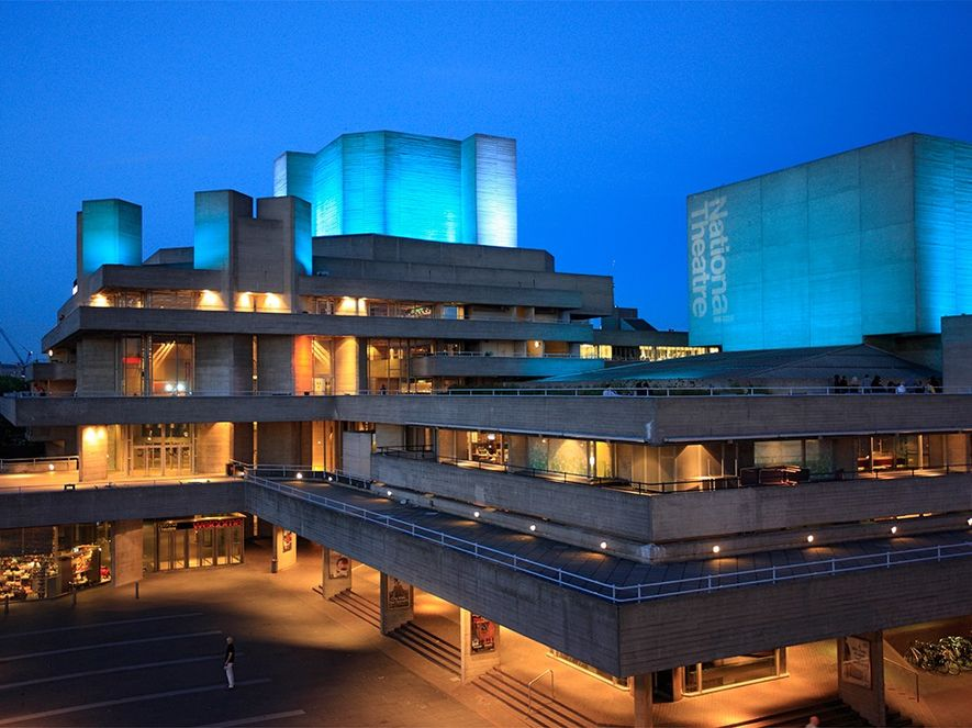 London's Royal National Theatre, on the South BankPhotograph by B. Pérousse
